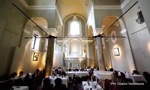 Casa degli Angeli: Menu gourmet di mare di 4 portate più crudité di pesce e bottiglia di vino da Casa degli Angeli (sconto fino a 63%)