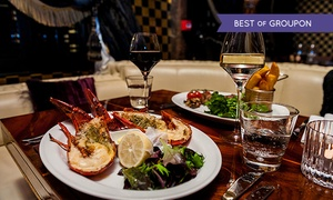 The Crazy Bear Group: English Chateaubriand, Lobster and Premium Champagne at The Crazy Bear £25 (57% off)