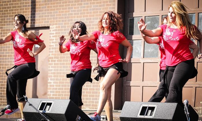 Kaliente Dance Fitness - Merrifield: 5 or 10 Dance Fitness Classes at Kaliente Dance Fitness (Up to 50% Off)