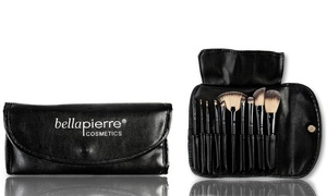 Bellapierre Cosmetics Professional Brush Set (10-Piece)