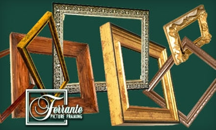 Ferrante Picture Framing - Fairview - Facer: $45 for $100 Toward Custom Framing at Ferrante Picture Framing in St. Catharines