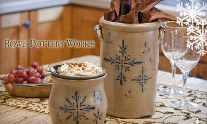 Rowe Pottery Works - Cambridge: $25 for $50 Worth of Pottery at Rowe Pottery Works