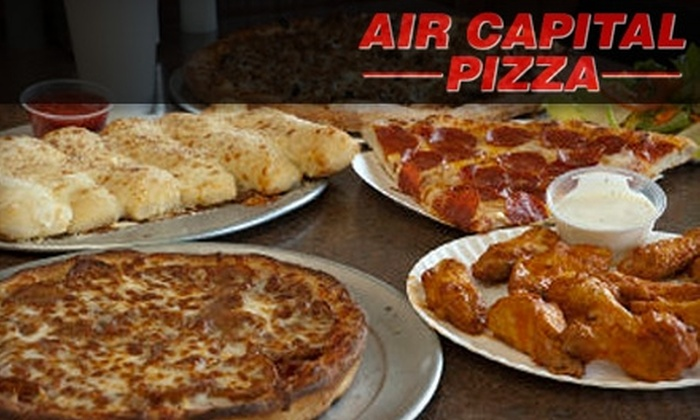 Air Capital Pizza - Wichita: $9 for $20 Worth of Pizza, Sandwiches, Wings, and More at Air Capital Pizza