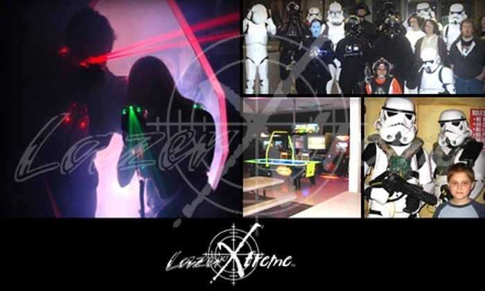 Lazer X Treme - Middleburg Heights: $10 for All-Day Pass at Lazer X Treme (Up to $25 Value)