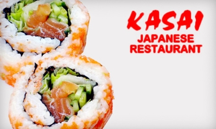 Kasai  - Wadsworth: $20 for $40 Worth of Japanese Fare and Drinks at Kasai