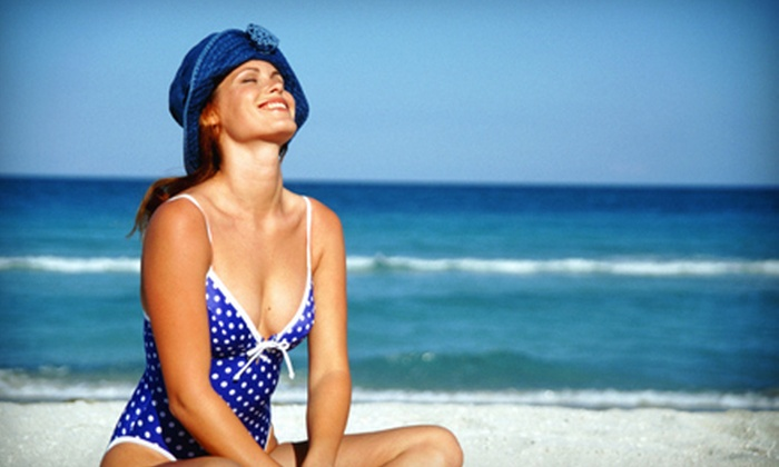 Oasis Tanning Salon - Bridesburg: 10 UV Tans or One Airbrush Tan at Oasis Tanning Salon (Up to 78% Off)