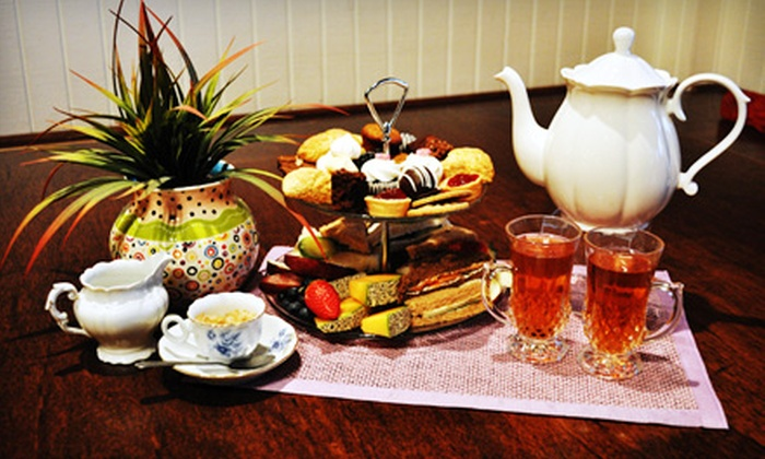 tahCha Tea House - Atlanta: Afternoon Tea Service for Two, Four, or Six at tahCha Tea House