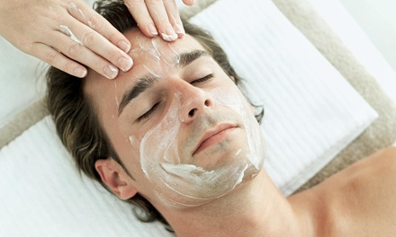 A Men's Facial at Infused Beauty Bar (50% Off)