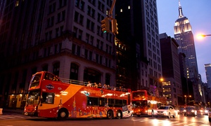 CitySightseeing NY: Nighttime Double-Decker Bus Tour for One or Two from CitySightseeing NY (Up to 64%Off)