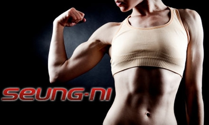 Seung-ni - Kentwood: $75 for the Eight-Week Body Challenge with Fitness Classes at Seung-ni ($250 Value)