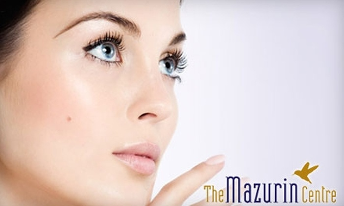 The Mazurin Centre - Mont royal: $42 for a Microcurrent Facial Rejuvenation Treatment at The Mazurin Centre ($84 Value)