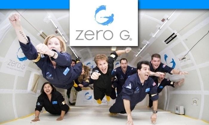 Zero G  - Tysons Corner: $3,500 for the Astronaut Experience with ZERO-G on October 31