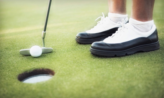 The River Golf and Country Club - Lake Royale: Golf Outings for One or Four or Membership to The River Golf and Country Club in Louisburg
