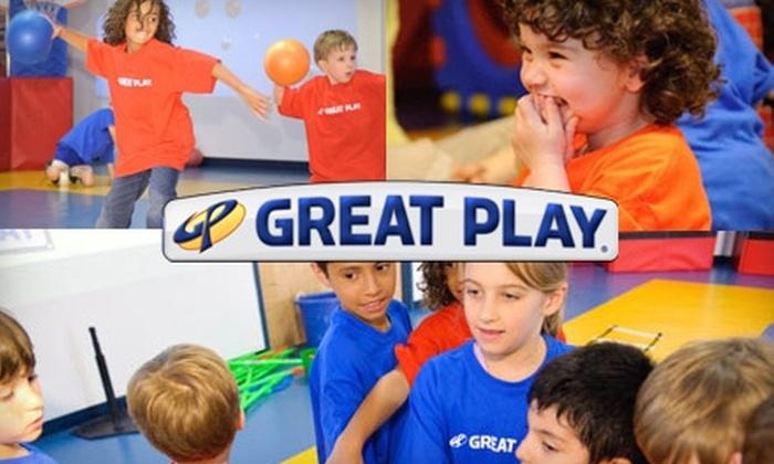 Great Play of Redmond - Downtown Redmond: $25 for Three Drop-In Kids' Classes at Great Play of Redmond ($75 Value)
