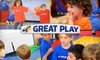 Great Play of Redmond: Child Account - Downtown Redmond: $25 for Three Drop-In Kids' Classes at Great Play of Redmond ($75 Value)
