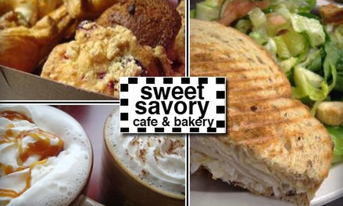 Sweet Savory Café & Bakery - Covina-Valley: $5 for $12 Worth of Freshly Baked Bread and Bistro Fare at Sweet Savory Café & Bakery