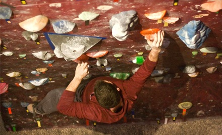 Virginia Beach Rock Gym: One-Day Climbing Pass with Harness, Shoes, and Chalk-Bag Rental  - Virginia Beach Rock Gym in Virginia Beach