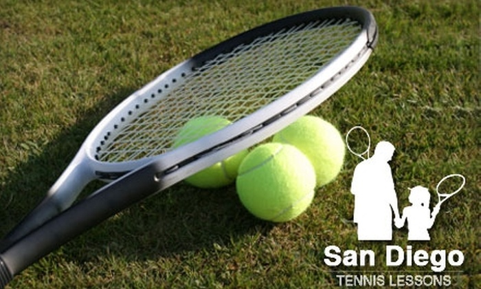 San Diego Tennis Lessons - Black Mountain Ranch: $22 for a One-Hour Private Tennis Lesson from San Diego Tennis Lessons