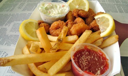 $13 for $20 Worth of Fresh Seafood at The Fish Keg