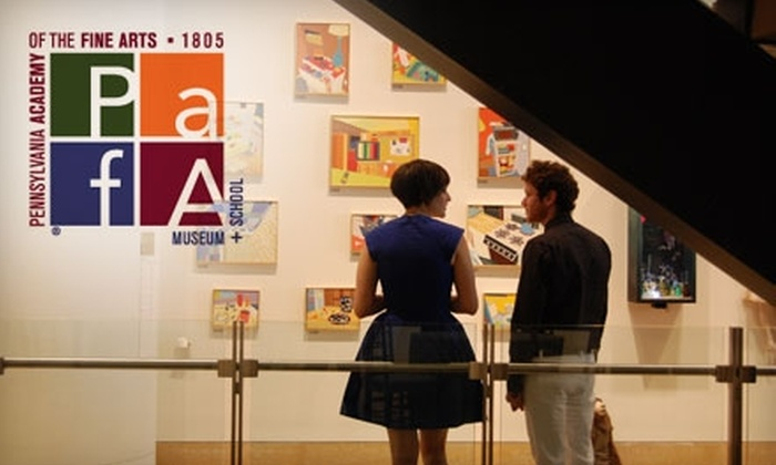 Pennsylvania Academy of the Fine Arts - Logan Square: $37 for One-Year Family Membership ($75 Value) or $25 for One Individual Membership ($50 Value) at Pennsylvania Academy of the Fine Arts