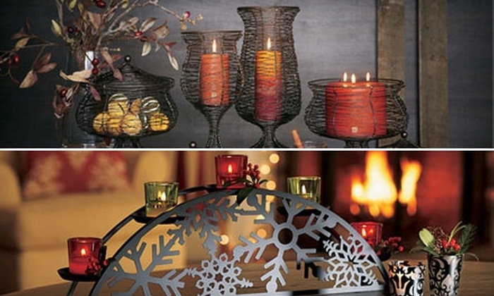 PartyLite Gifts: $25 For $50 Worth of Candles and Home Decorations