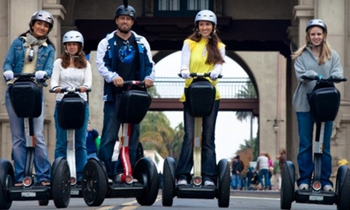 Another Side of San Diego Tours - San Diego: $49 for a Balboa Park Segway Tour from Another Side of San Diego Tours ($149 Value)
