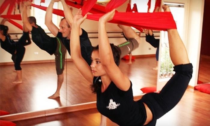Believe Fitness Studio - El Segundo: $45 for Five Antigravity Yoga Classes at Believe Fitness Studio in El Segundo ($115 Value)
