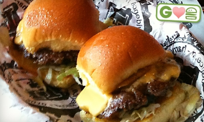Harry's Bar & Burger - College Hill: $6 for $12 Worth of Burgers and American Fare at Harry's Bar & Burger