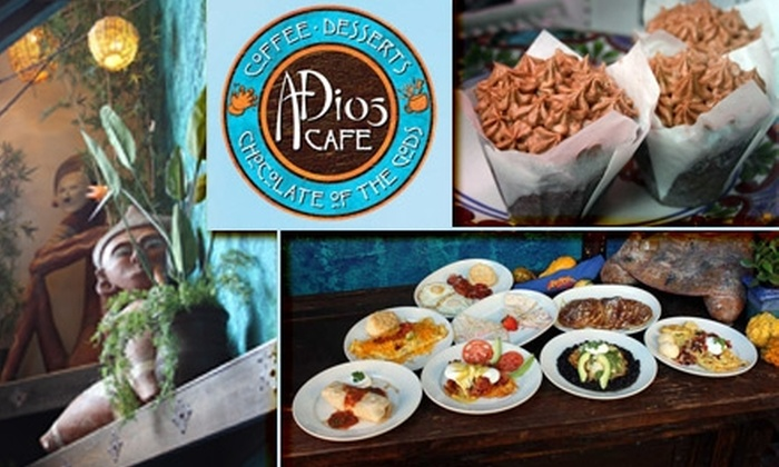No Mas! Productions - Castleberry Hill: $10 for $25 Worth of Breakfast, Pastries, Coffee, and More at ADios Café in No Mas! Hacienda & Cantina