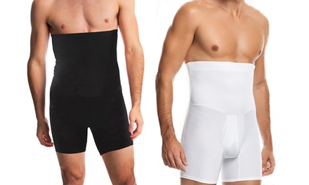 Men's High Waisted Slimming Compression Undershorts