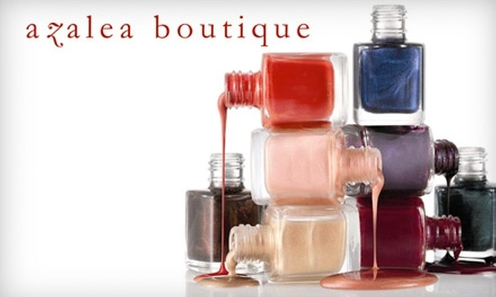 Azalea Boutique's Z Beauty Lounge - Hayes Valley: $28 for an All-Natural Coconut Mani-Pedi at Azalea Boutique's Z Beauty Lounge ($58 Value)