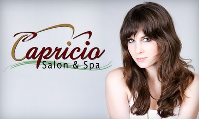 Capricio Salon & Spa - Cambridge Heights: $30 for $60 Worth of Services at Capricio Salon & Spa