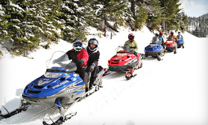 Adventure Sport Rentals - Coeur d'Alene: Two- or Four-Hour Snowmobile Tours from Adventure Sport Rentals in Coeur d'Alene (Up to Half Off). Four Options Available.