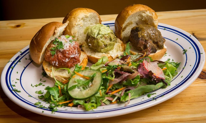 Mondo Meatball - Wicker Park: Dinner for Two or More at Mondo Meatball (Up to 40% Off). Two Options Available.
