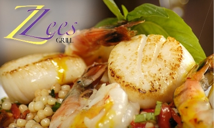 Zee's Grill - Niagara-on-the-Lake: $25 for $50 Worth of Upscale Dinner Fare and Drinks at Zee's Grill
