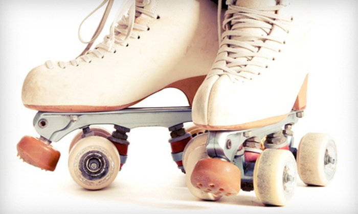 Skate Center of Roanoke Valley - Roanoke: Roller-Skating for Two or Four with Arcade Tokens and Drinks at Skate Center of Roanoke Valley (Half Off)