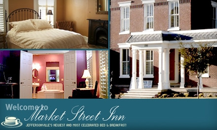 Market Street Inn Bed & Breakfast - Downtown Jeffersonville: $60 for a One-Night Stay and Breakfast at Market Street Inn Bed & Breakfast (Up to $209 Value)