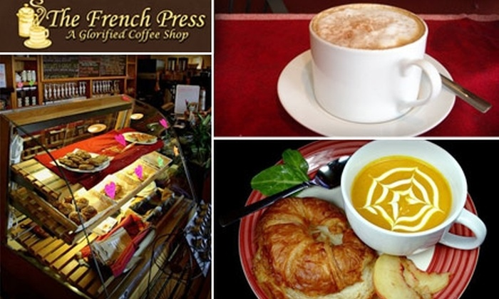 The French Press - Union Square: $7 for $15 Worth of Bites and Beverages at The French Press