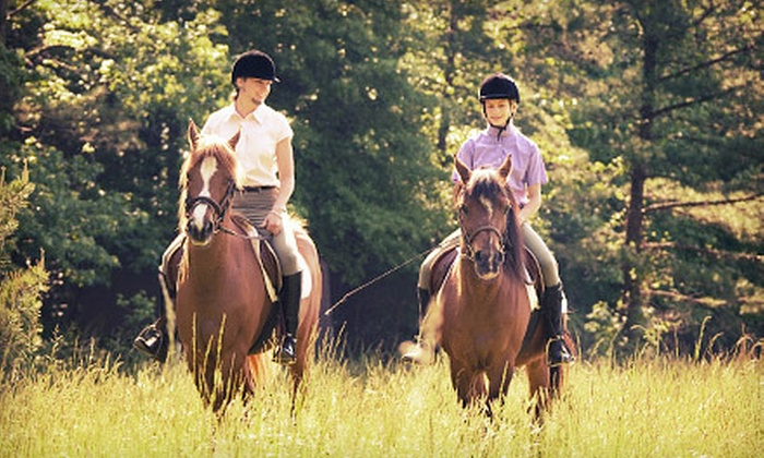 Kimberly Farms - Shaftsbury: 60-Minute Trail Ride and Lunch or Dinner for Two, Four, or Six at Kimberly Farms in North Bennington (Up to 60% Off)