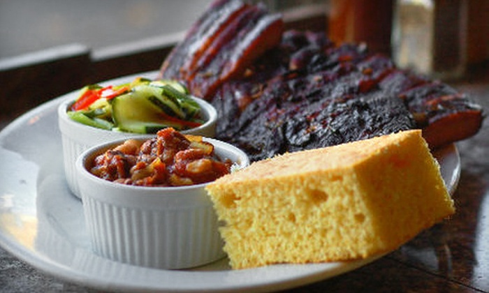 The SugarHouse Barbeque Company - Sugar House: Barbecue Fare or Meal for Two at The SugarHouse Barbeque Company