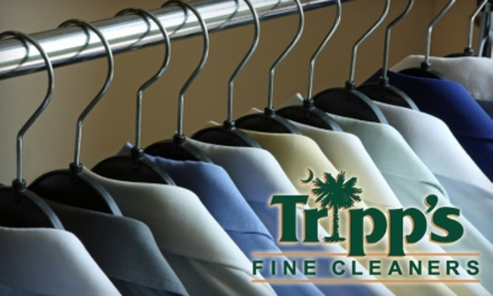 Tripp's Fine Cleaners - Multiple Locations: $10 for $20 Worth of Dry-Cleaning Services at Tripp's Fine Cleaners