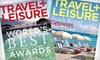 "Travel + Leisure Magazine: $12 for 15 Issues of ""Travel + Leisure"" Magazine ($24.99 Value)"