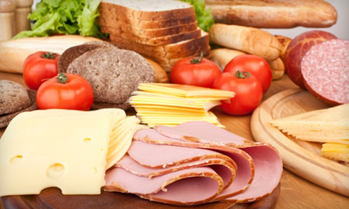 Snapfinger Catering: $25 for $50 Worth of Party-Platter Catering for Pickup or Delivery from Snapfinger Catering