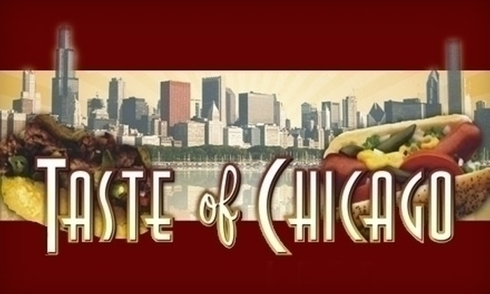 Taste of Chicago - University District: $3 for $10 Worth of Chicago-Style Eats and Drinks at Taste of Chicago