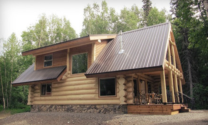 Talkeetna Majestic & Loft - Tanana South: One-Night Stay in a Log Home or Loft Room (Up to 59% Off)