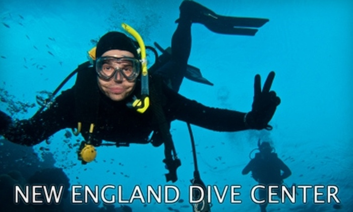 New England Dive Center - Wallingford: $30 for a Discover Scuba Course at New England Dive Center ($75 Value)
