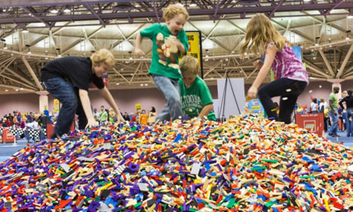 LEGO Kidsfest - Downtown: One Ticket to LEGO KidsFest at Connecticut Convention Center on December 2 or 4