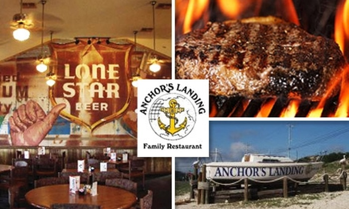 Anchor's Landing Family Restaurant - South Canyon Lake: $10 for $25 Worth of American Dining and a Free Appetizer at Anchor's Landing Family Restaurant