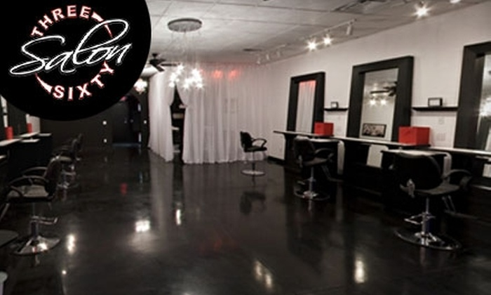 Salon Three Sixty - Norman: $35 for $75 Worth of Salon Services at Salon Three Sixty