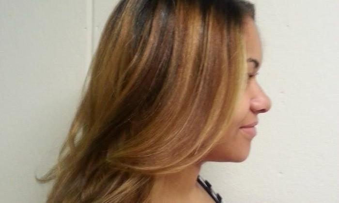 Hair Reflections - Hair Reflections: Up to 58% Off Haircut, Highlights and Keratin at Hair Reflections